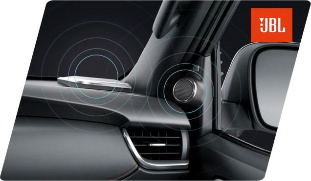 9-Speaker JBL Sound System