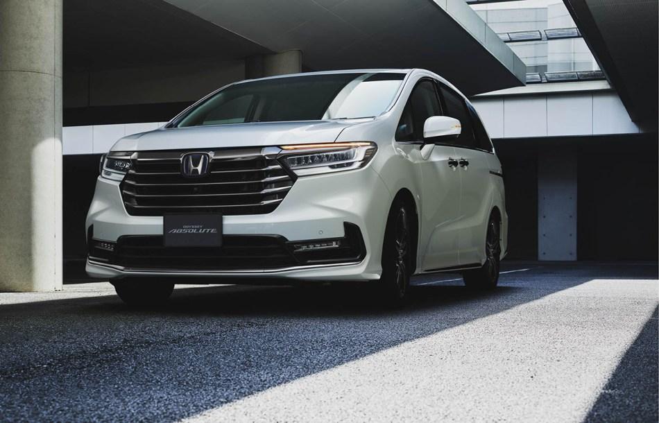 2021 Honda Odyssey Absolute Exterior