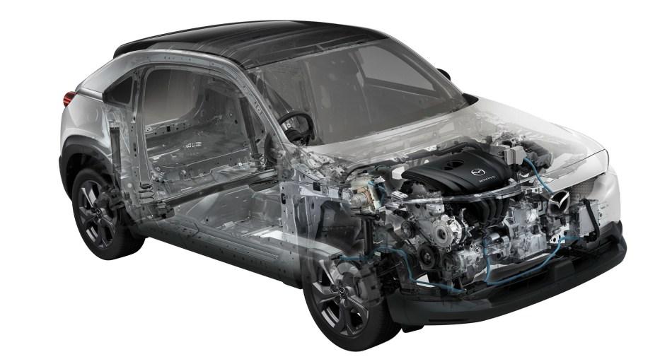 Mazda MX-30 e-Skyactiv G