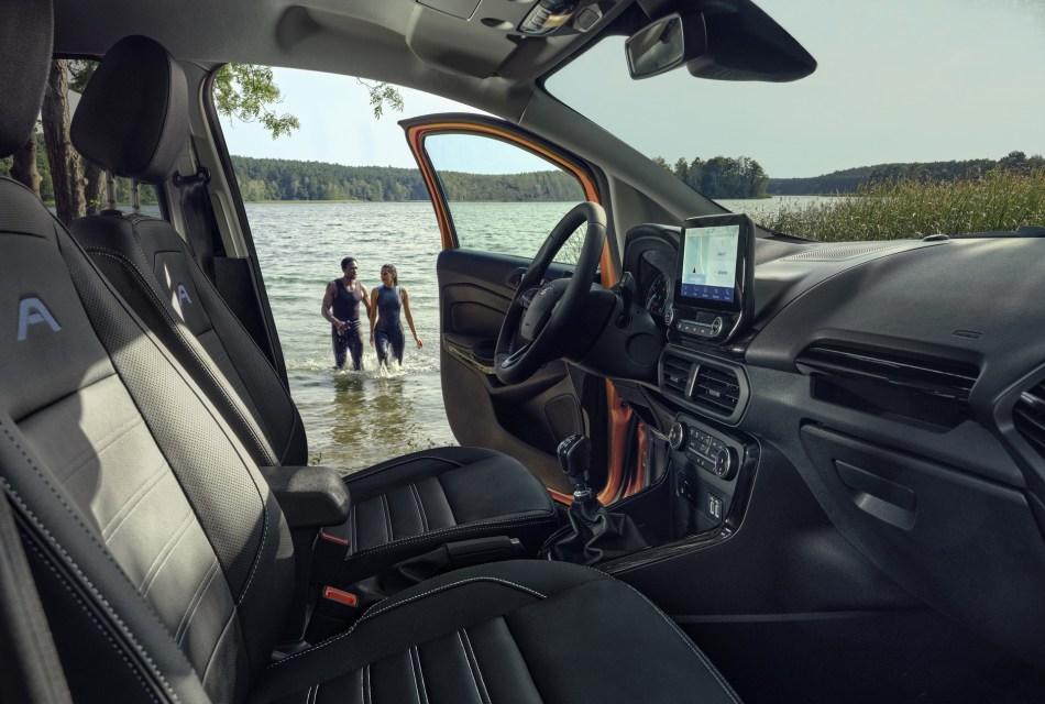 2021 Ford EcoSport Active Interior