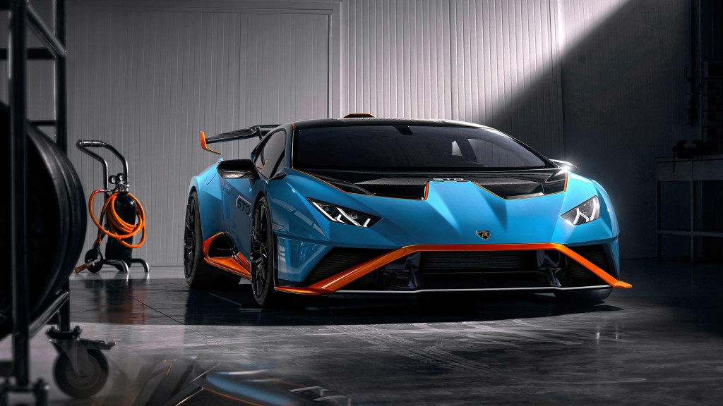 New Lamborghini Huracan STO Is A Basically A 631-HP Street-Legal Race Car