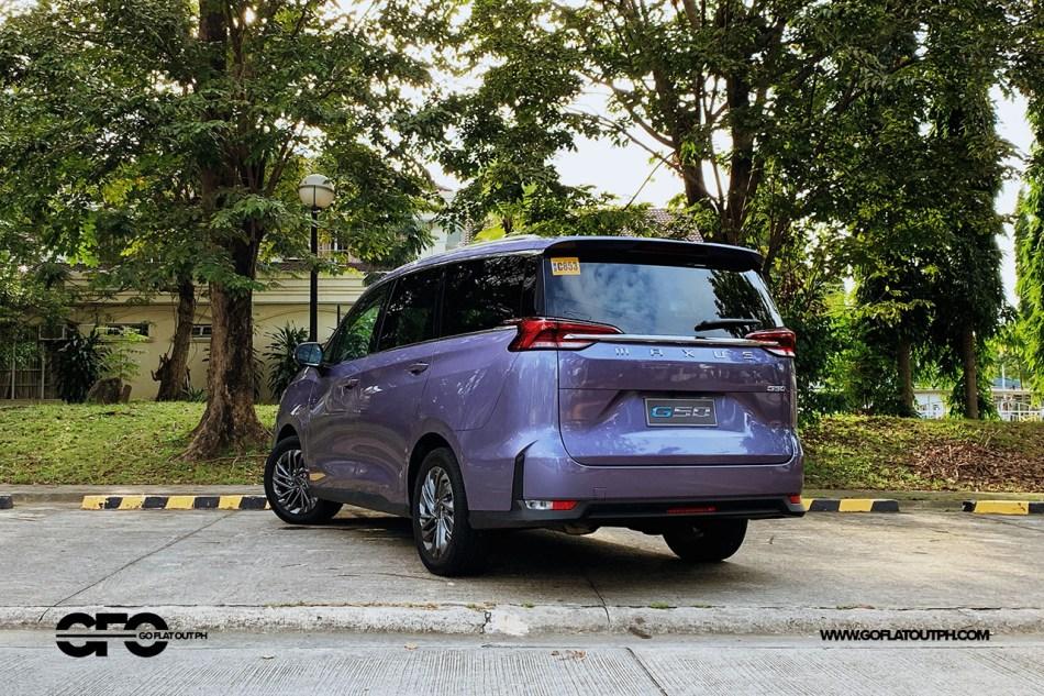 2021 Maxus G50 Premium Exterior
