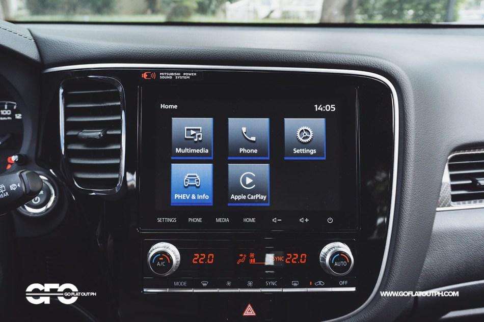 2021 Mitsubishi Outlander PHEV Philippines Infotainment