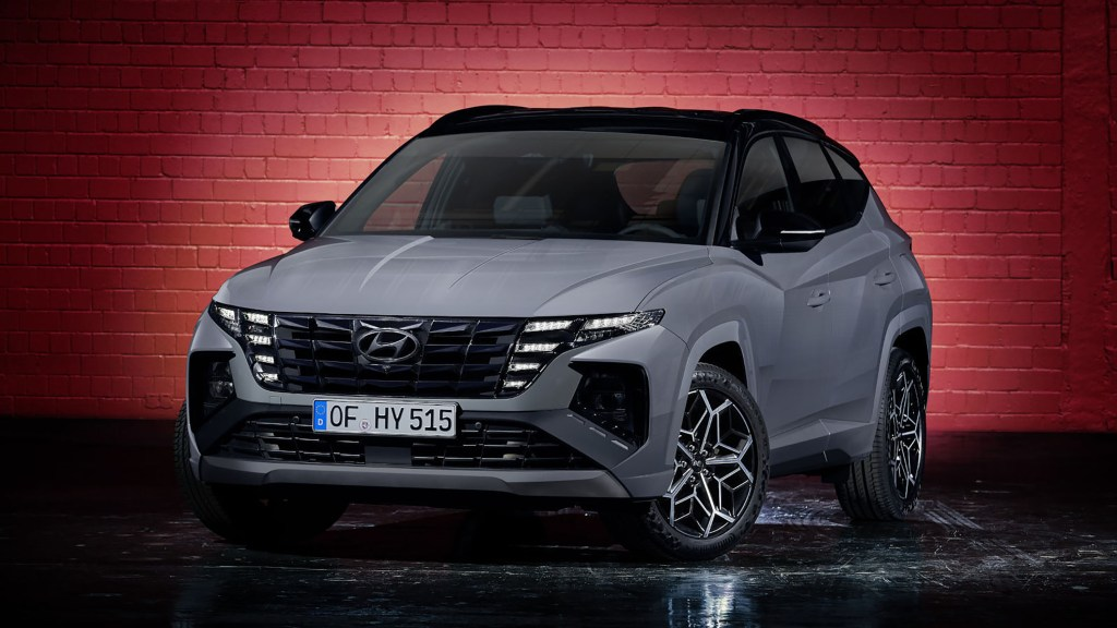 2022 Hyundai Tucson N Line Flexes Its Sportier Styling