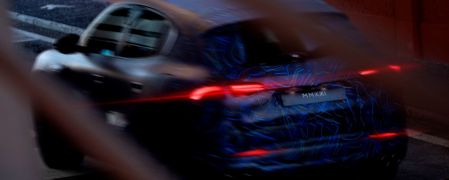 Upcoming Maserati Grecale Compact Luxury SUV Teased Ahead Of Debut