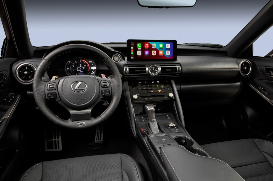 2022 Lexus IS 500 F Sport Performance Interior