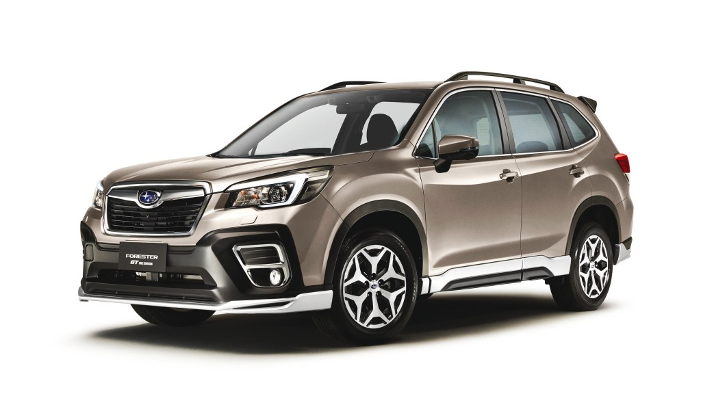 Subaru PH Introduces 2021 Forester GT Lite For P1.980M