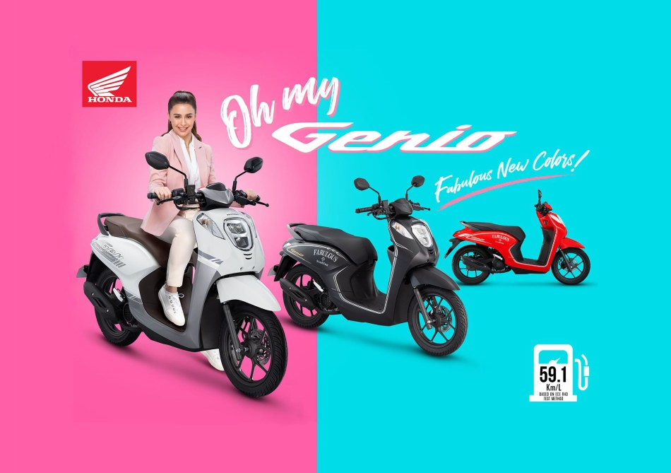 Honda Genio Now Comes With Three New Special Colors