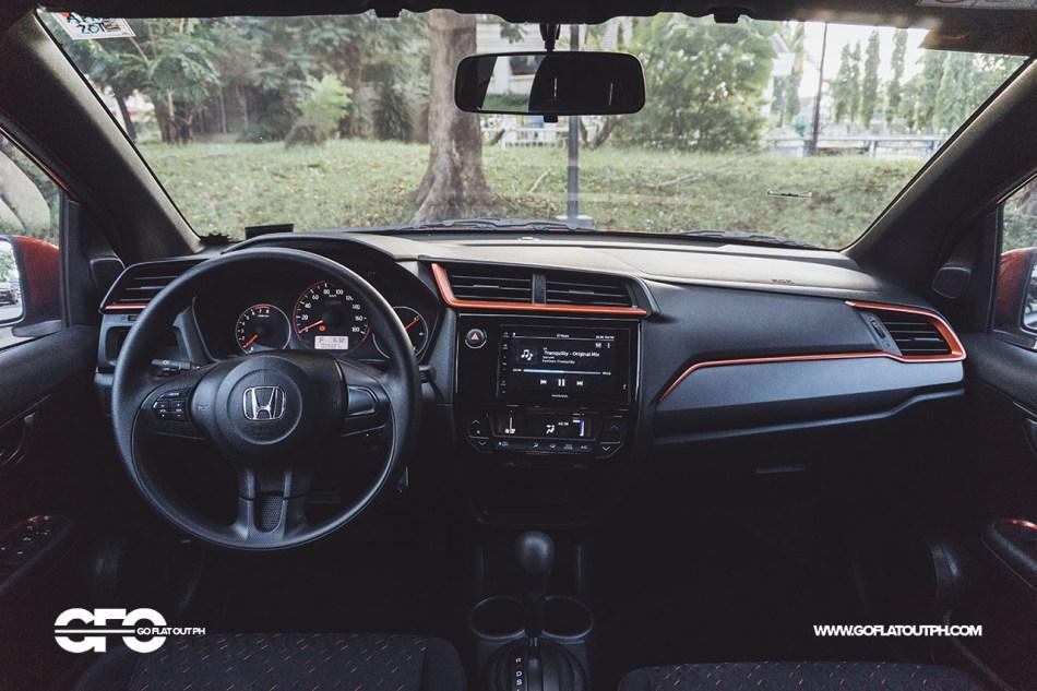 2020 Honda Brio RS Philippines Interior
