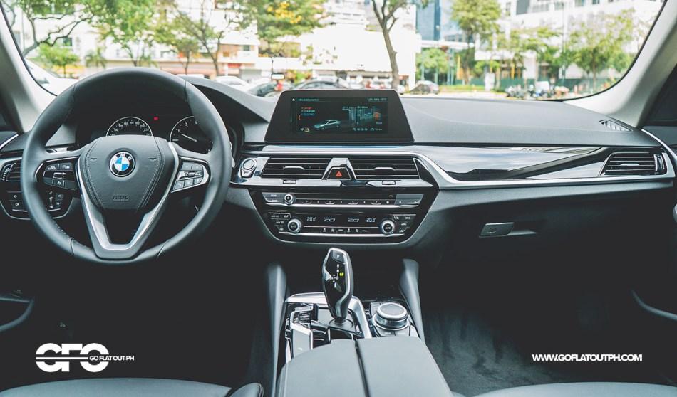 2020 BMW 520i Sport Philippines Interior