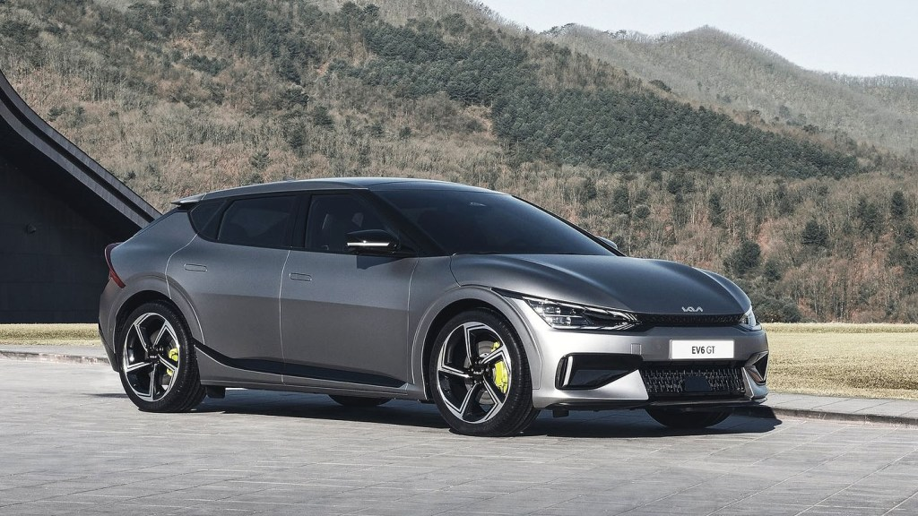 2022 Kia EV6 Is An Electric Crossover With Sports Car Performance