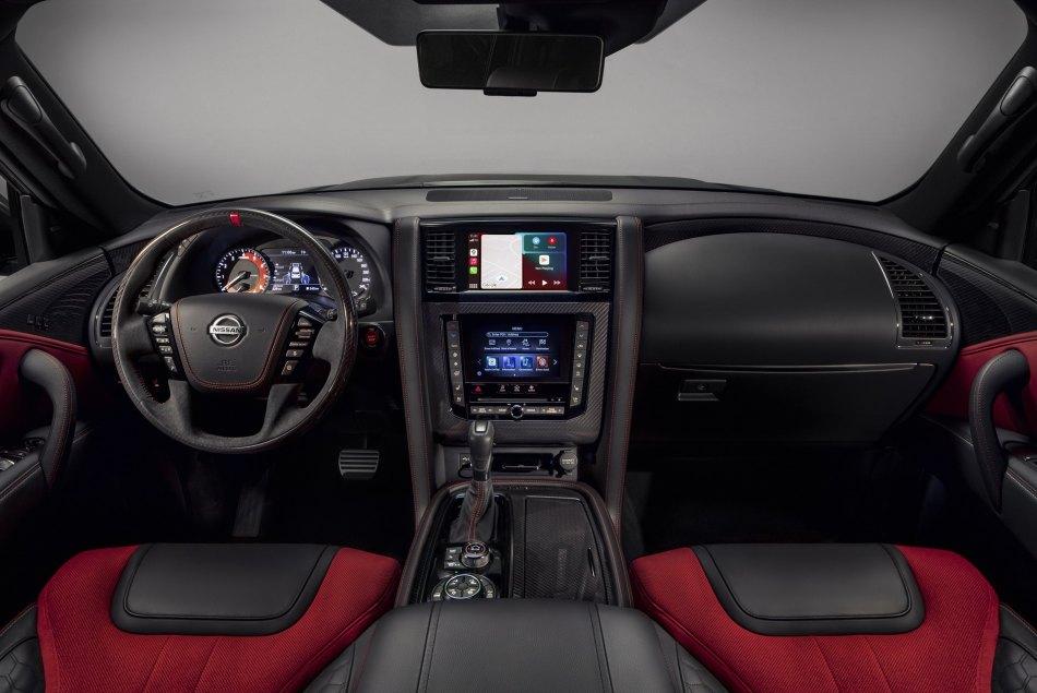 2021 Nissan Patrol Nismo Interior