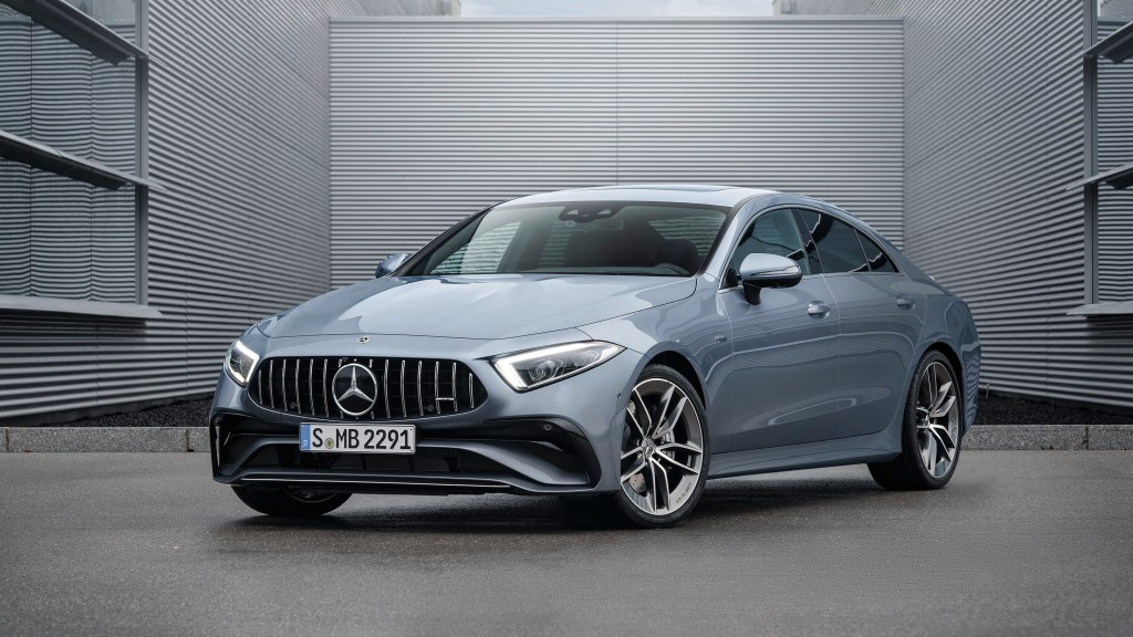 2022 Mercedes-Benz CLS Four-Door Coupe Receives A Sexy Refresh