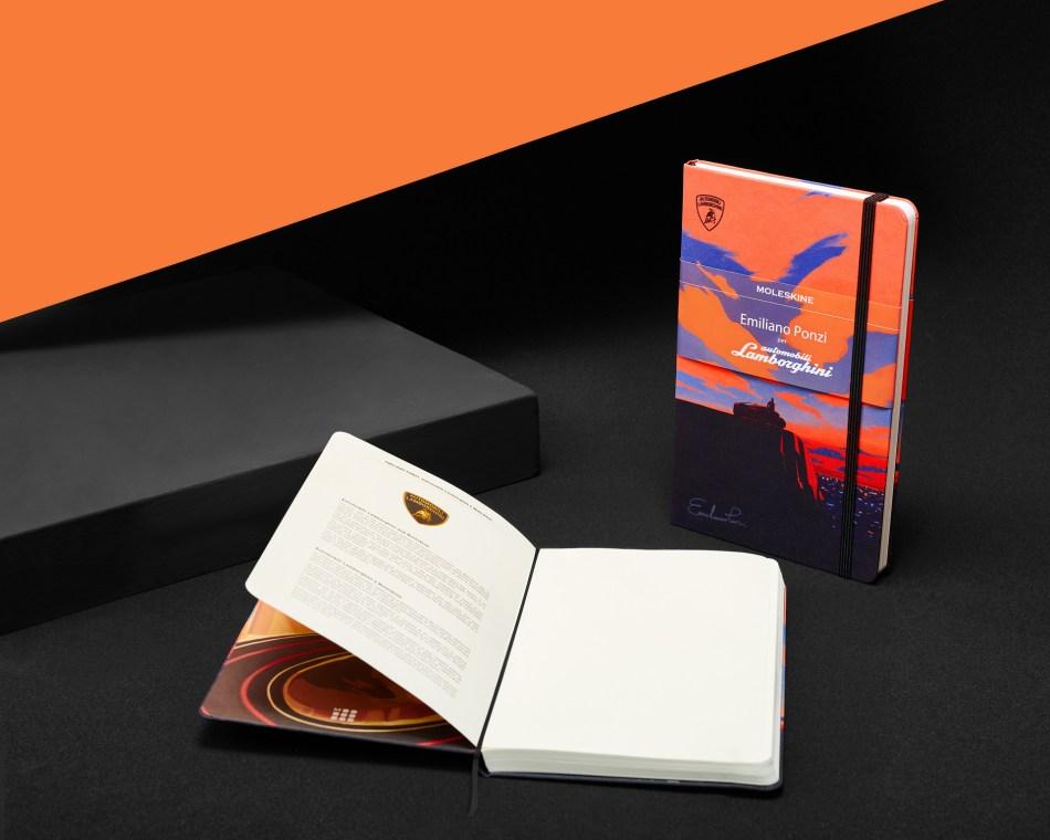 Moleskine Lamborghini Notebook