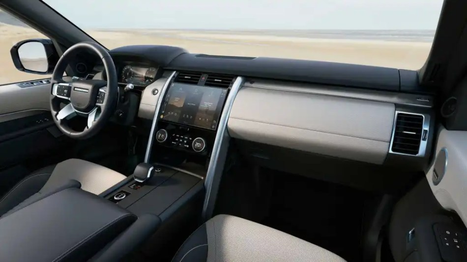 2021 Land Rover Discovery Philippines Interior