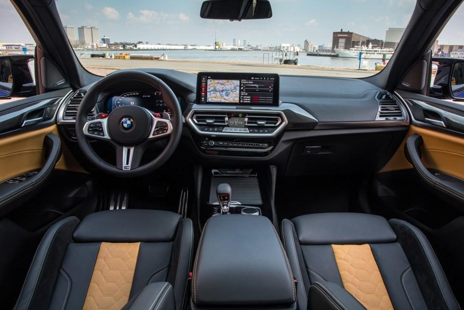 2022 BMW X3 M Interior