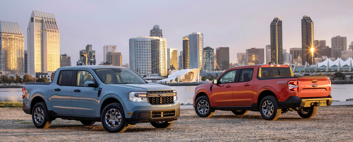 2022 Ford Maverick Is Smaller Than A Ranger, More Efficient Than A Civic