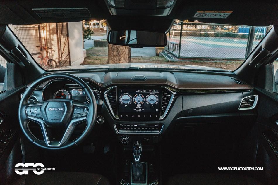 2021 Isuzu D-Max LS-E 4x4 Philippines Review Interior