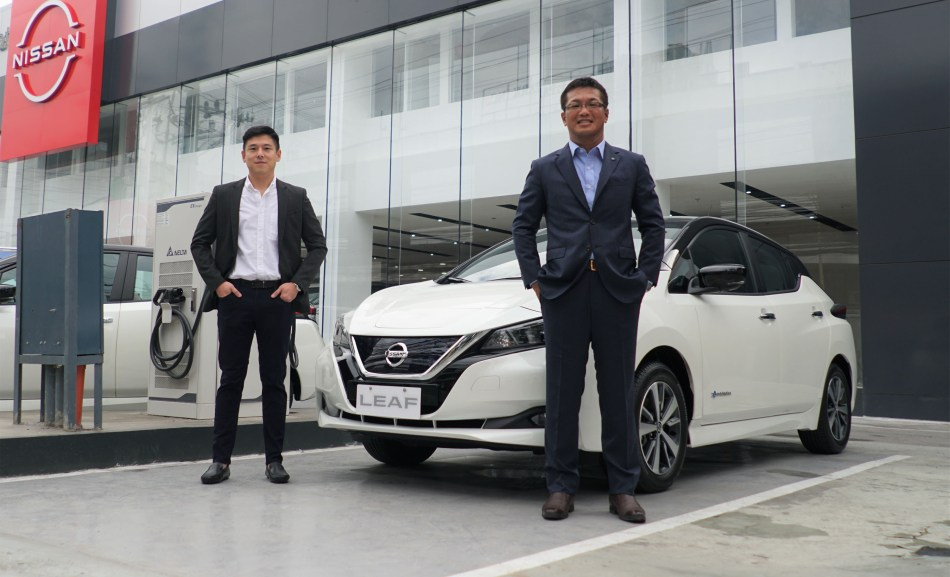 Davaoeños Can Now Purchase The Nissan Leaf In Tagum And Matina