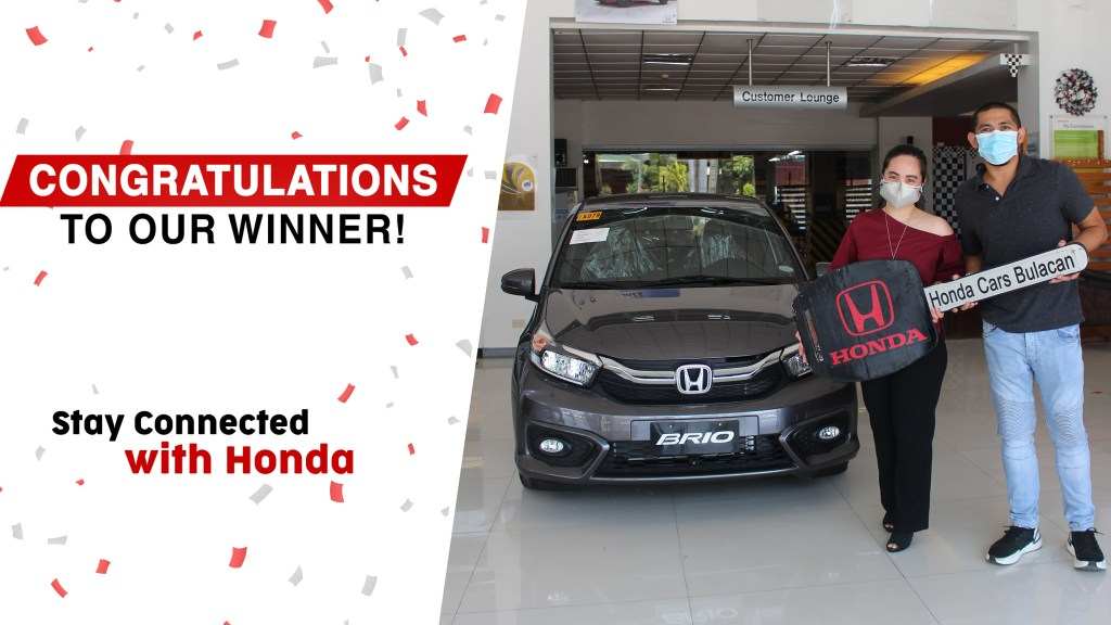 This Guy Won A Honda Brio By Simply Updating His Owner Information
