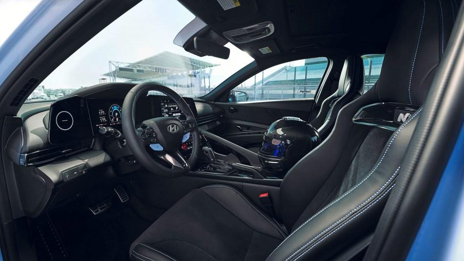 2022 Hyundai Elantra N Interior