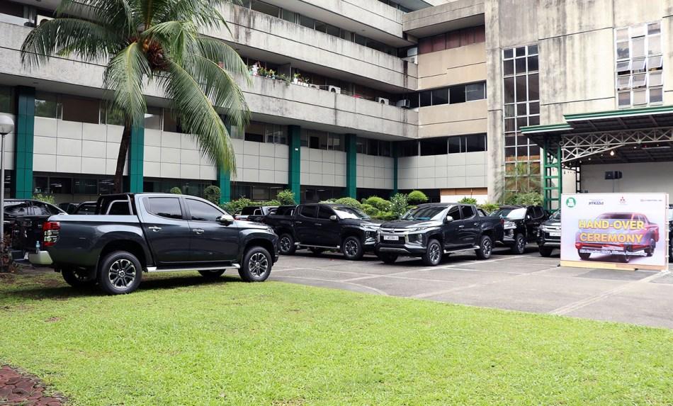 National Irrigation Administration Acquires 95 Units Of Mitsubishi Strada