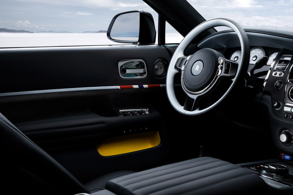 Rolls-Royce Wraith and Dawn Landspeed Collection Interior