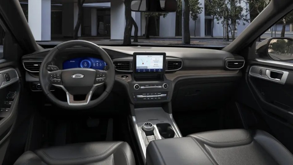 2022 Ford Explorer Limited Philippines Interior
