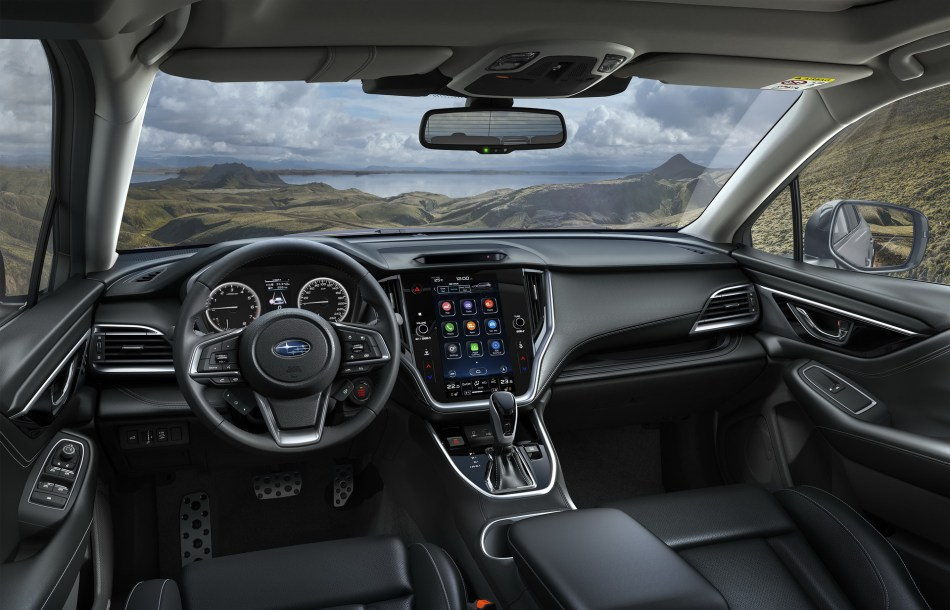 2022 Subaru Outback Interior Philippines