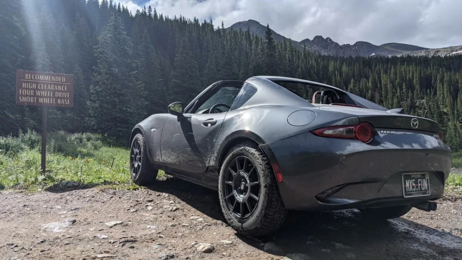 Take A Look At This Mazda MX-5 RF Going Off-Road