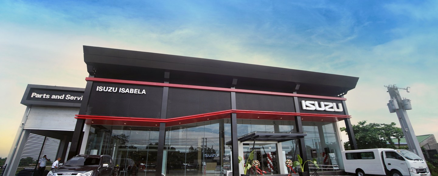Isuzu Isabela Reopens, Now Wearing The Brand's IOS Architecture