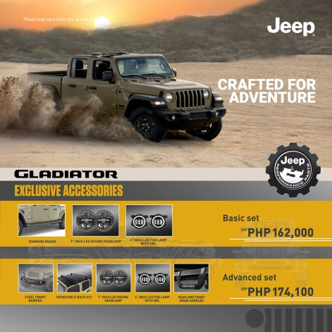 Jeep Gladiator Basic Advanced