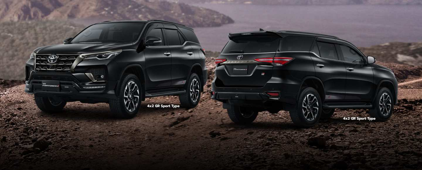 Toyota Also Gives The Fortuner The GR Sport Treatment