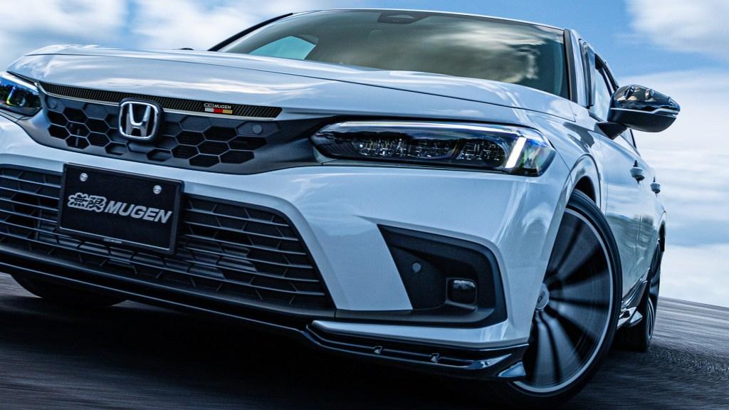 Mugen Accessorizes The 2022 Honda Civic Hatchback