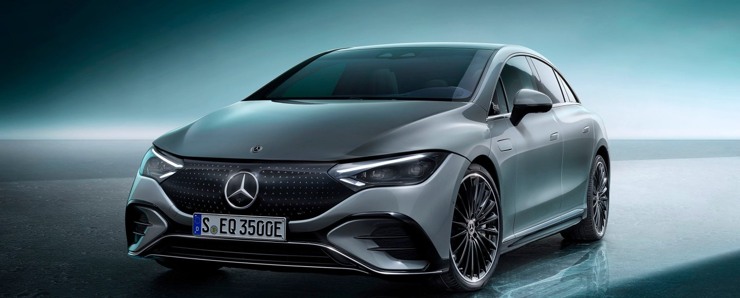 2023 Mercedes-Benz EQE Looks Like A Smaller Version Of The EQS