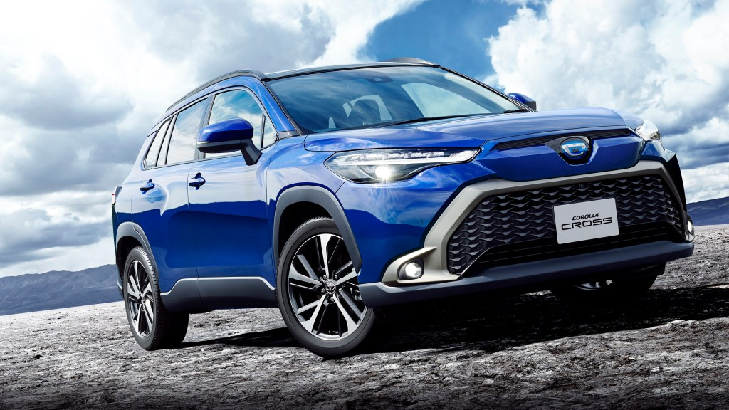 Japan's Toyota Corolla Cross Gets A Different Face