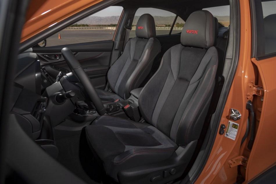 2022 Subaru WRX Interior