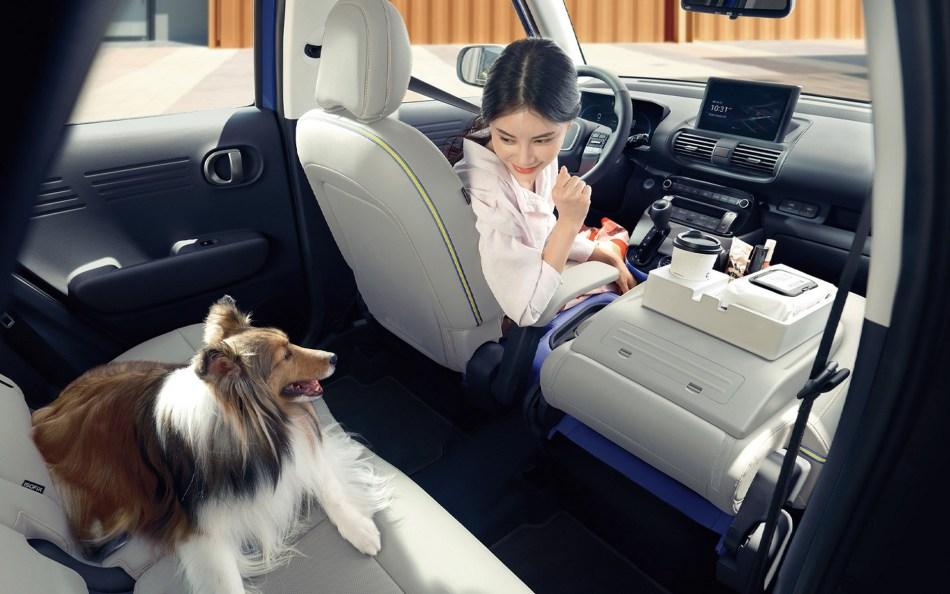 2022 Hyundai Casper Interior