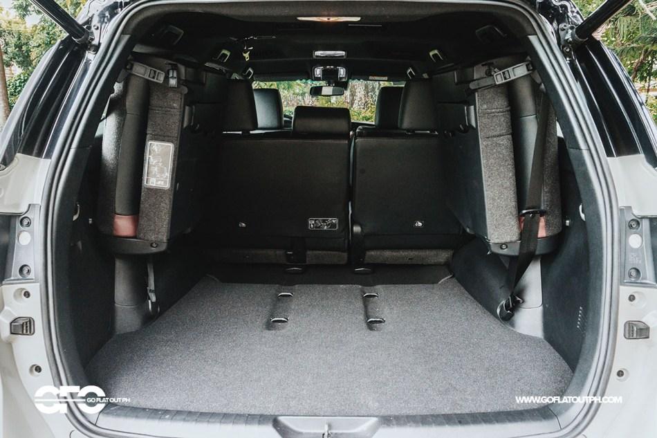 2021 Toyota Fortuner LTD Trunk Space Philippines