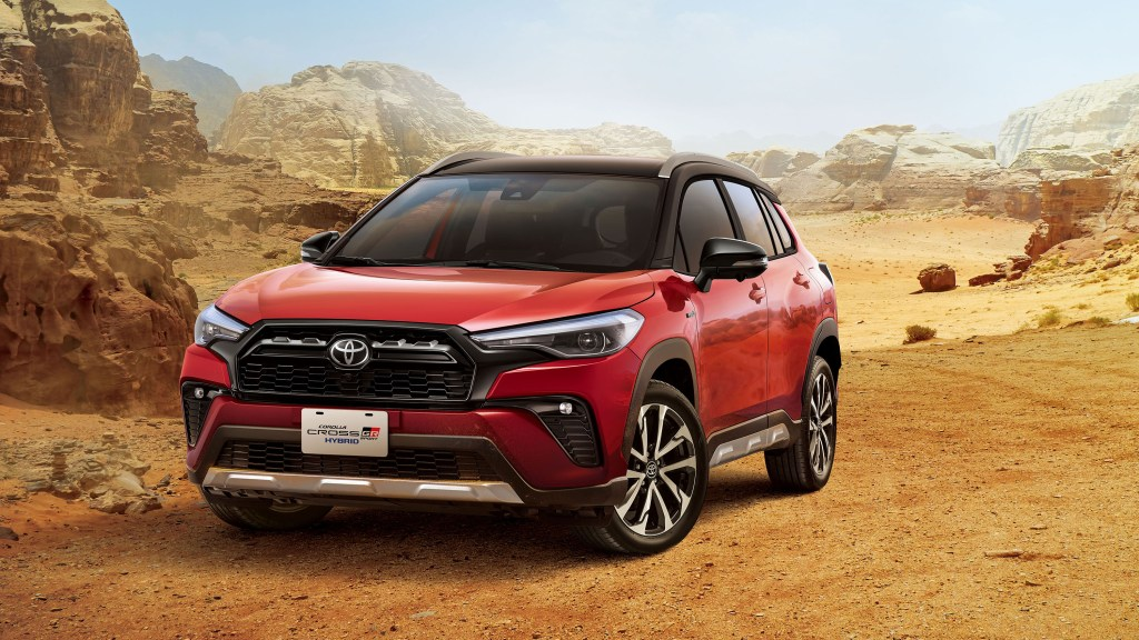 Toyota Corolla Cross GR Sport Gets Aesthetic And Handling Upgrades
