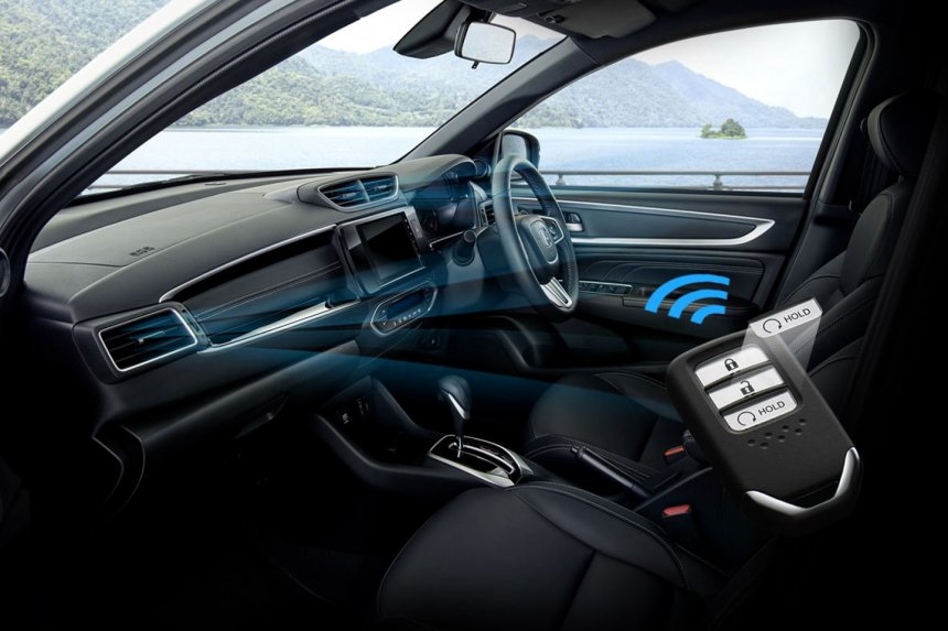 2022 Honda BR-V Interior