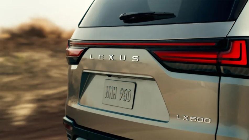 Next-Generation Lexus LX 600 Teased Before October 14 Debut