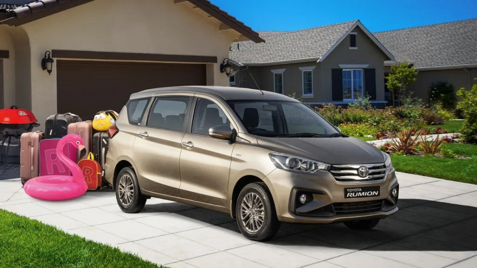 "The ""New"" Toyota Rumion Is Just A Rebadged Suzuki Ertiga"