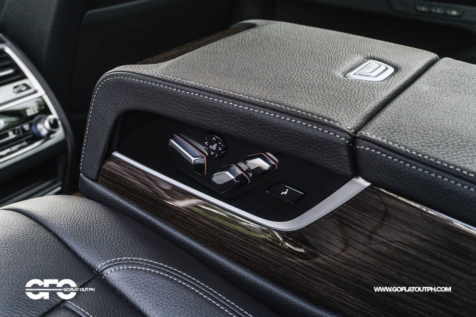 2021 BMW 730i Pure Excellence Philippines Rear Seats