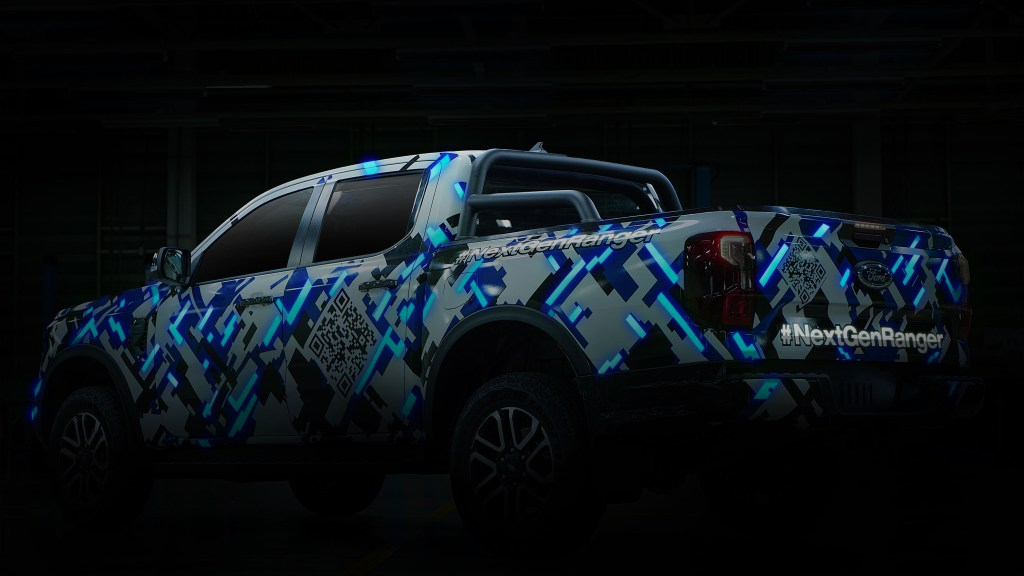 Here's Another Look At The Next-Generation Ford Ranger