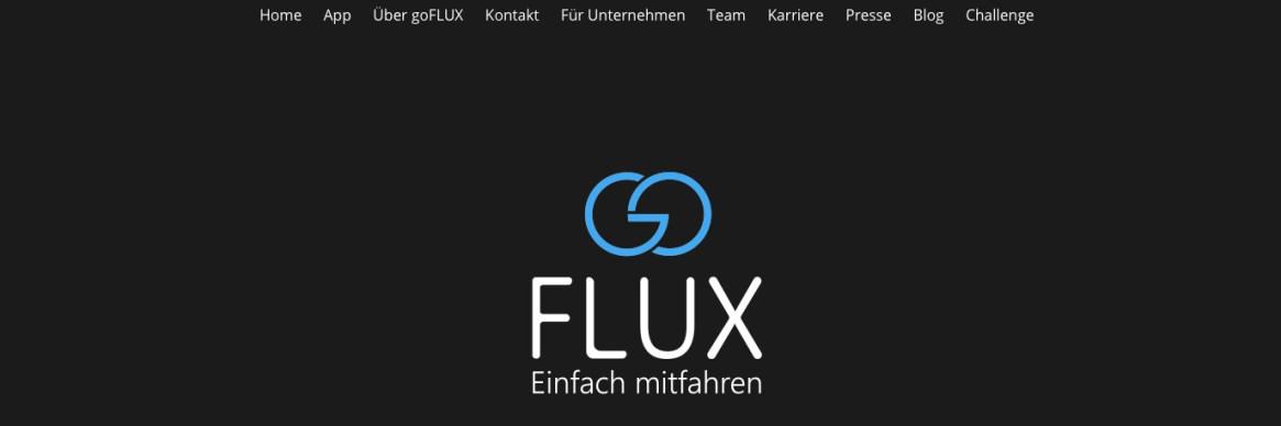 neue Website; goFLUX