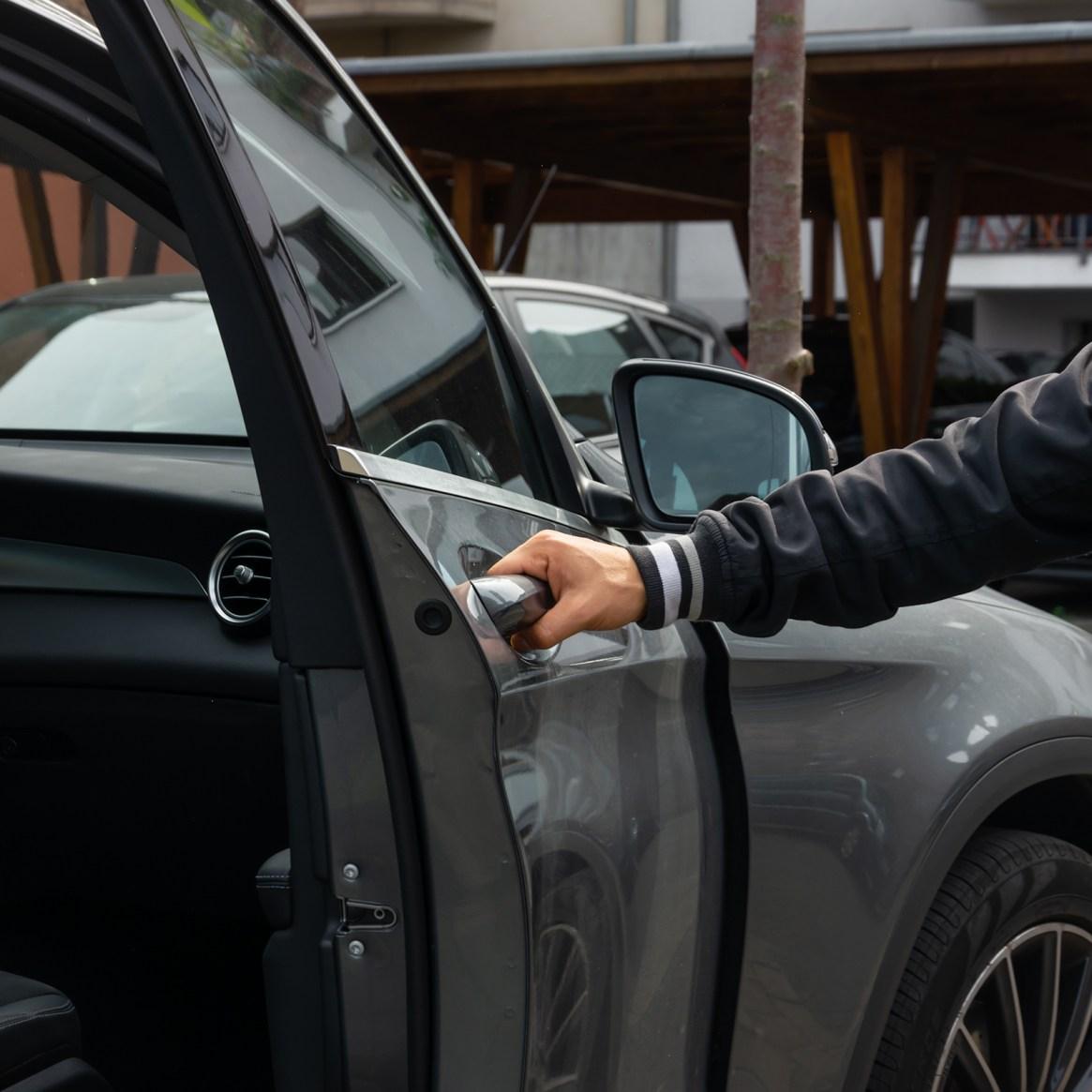 Auto; Carsharing; Einsteigen; Vorteile Carsharing
