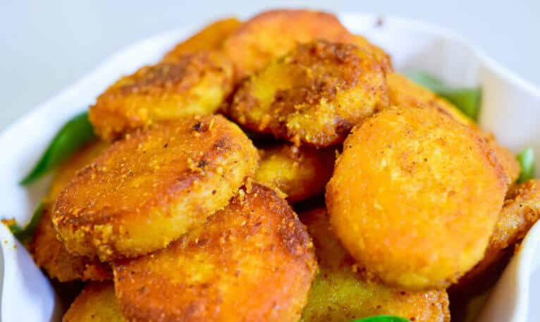 Fried Arbi Fitters – Masala Biscuits