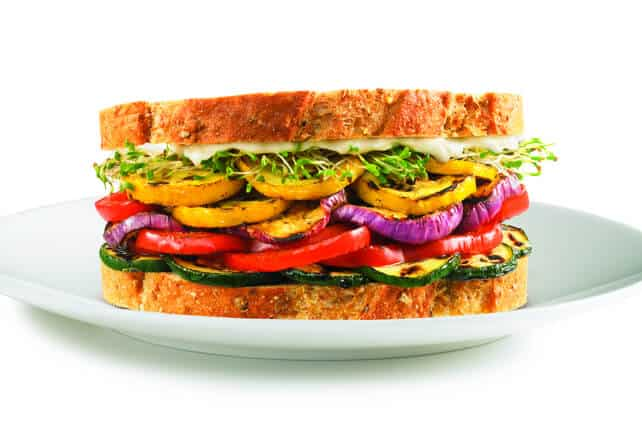 Sandwich Mania - Vegetable Sandwich