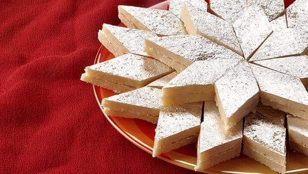 Kaju Barfi - Melt In A Mouth Cashew Slices
